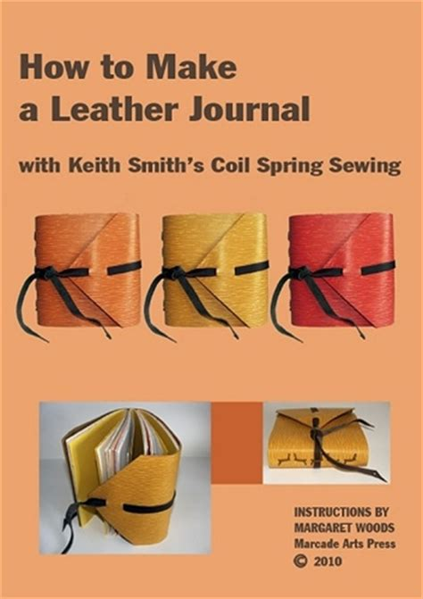 How To Re Dye Leather by How To Make A Leather Journal With Keith Smith S Coil