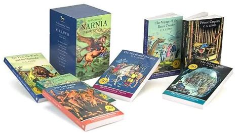 narnia film box set the chronicles of narnia by c s lewis paperback