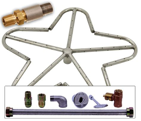 propane gas pit kits 18 quot penta stainless steel pit burner ring kit for