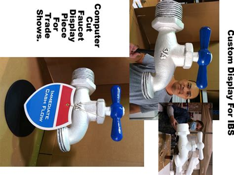Plumbing Trade Show by Custom Made Big Foam Prop Sculptures Made To Order