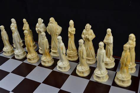 Unique Chess Pieces harry potter chess set leah s den