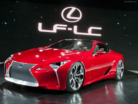 lexus concept sports car lexus lf lc sports coupe concept 2012 exotic car wallpaper