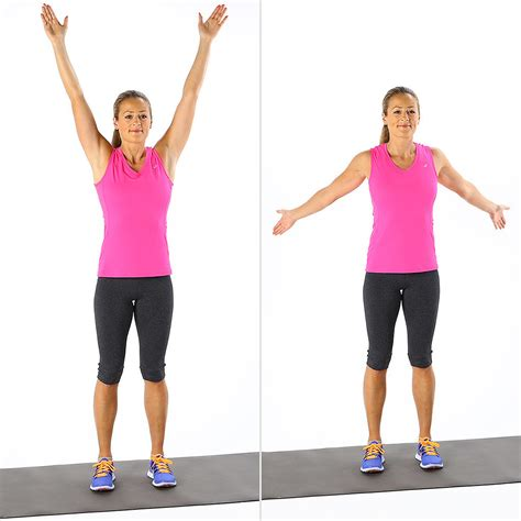 what are arm swings overhead arm circles 5 moves 5 minutes your quick
