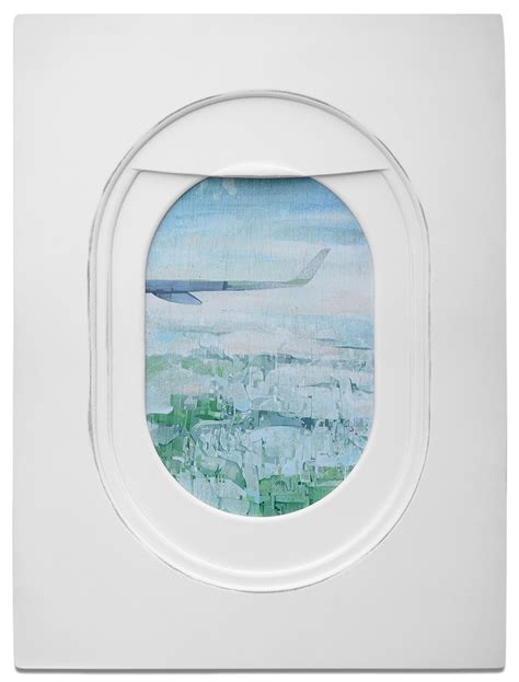 Build A Window Seat - jim darling s airplane window seat paintings frame landscapes from mile high perspectives colossal