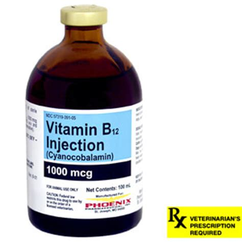 vitamin b for dogs vitamin b 12 injectable 1000mcg ml rx