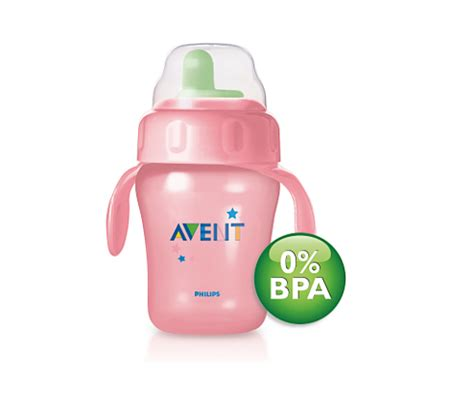 Philips Avent Spout Toddler Cup Trainer 260ml Sip Sippy 12m 63 toddler cup scf602 12 avent
