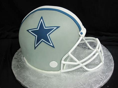 How To Make A Football Helmet Out Of Paper - cowboys football helmet cake cakecentral