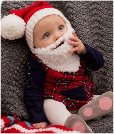free crochet santa hat for children baby crochet santa hat with beard free pattern crafts ideas