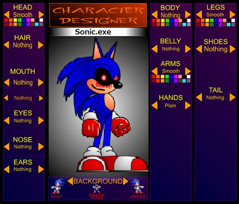 fan base names generator image omg sonic exe invaded sonic character designer