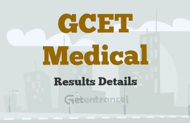 Gcet For Mba 2016 by Gcet 2018 Results And Score Card Getentrance