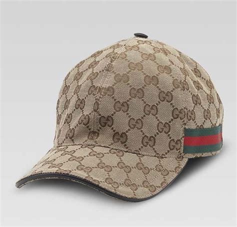 gucci s baseball hat beige original gg fabric
