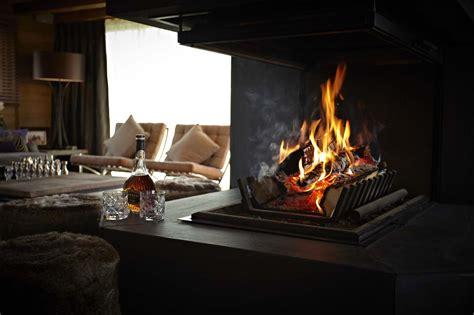 Chalet Fireplace by Chalet Grande Corniche Les Gets Alpine Guru