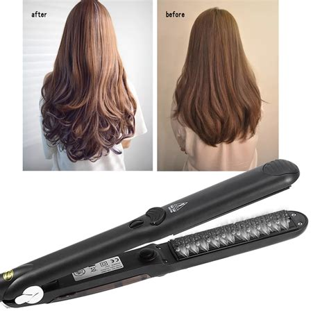 Styler Hair Iron by Professional Hair Salon Steam Flat Iron Hair Straightener