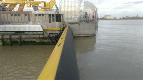 thames barrier in operation the calm after the storms creating a better place