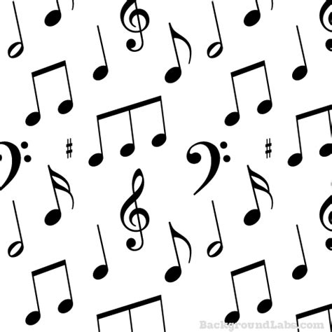 vector pattern with music notes musical notes seamless pattern background labs