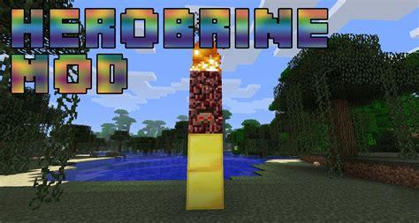 mod in minecraft youtube minecraft mods herobrine youtube