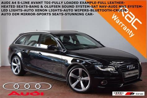 old car repair manuals 2010 audi a4 navigation system 2010 audi a4 avant 2 0tdi 143ps s line full heated leather sat nav b tooth in belfast city