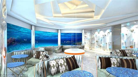 Fine Dining Floor Plan maldives resort to open underwater restaurant daily mail