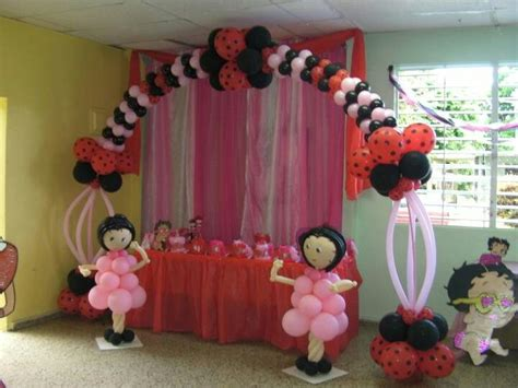 Betty Boop Decorations by Betty Boop Balloon Decorations