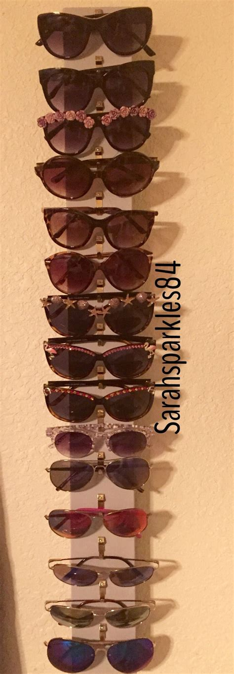 Sunglasses Rack Diy by 17 Best Ideas About Sunglasses Organizer On Sunglasses Holder Sunglasses Storage