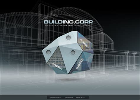 Building Company Dynamic Flash Template Dynamic Flash Website Templates Free