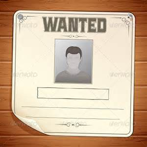 template for a wanted poster 19 wanted posters free printable sle exle