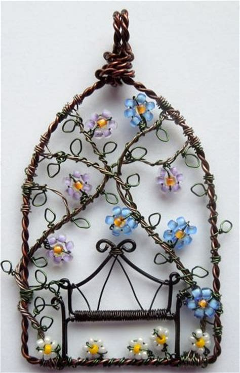 wire craft projects unique wire wrapping artwork craft ideas