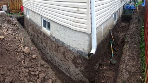 basement drainage systems foundation waterproofing services cutwater construction