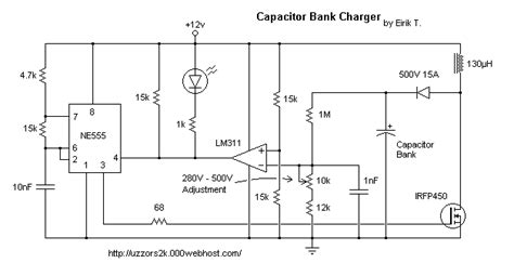 of capacitor in dc circuit charger best option for charging a high voltage capacitor electrical engineering stack exchange