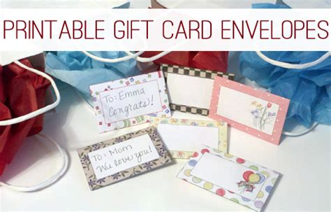 printable gift card envelope decorative gift card envelopes free printable