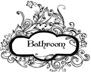 Fancy Name For Bathroom Second Life Marketplace Fancy Bathroom Sign