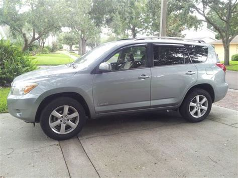 2007 Toyota Rav4 Limited Sell Used 2007 Toyota Rav4 Limited 4 Door 2 4l 4cyl 4x4 In