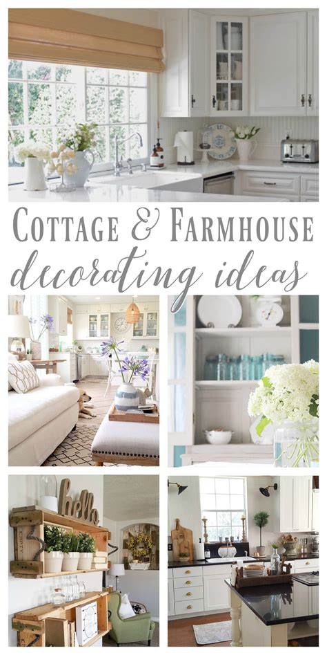 At The Cottage Decorating With - cottage farmhouse features from foxhollowfridayfavs
