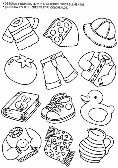 dibujos para ninos de kinder actividades para ni 241 os preescolar primaria e inicial