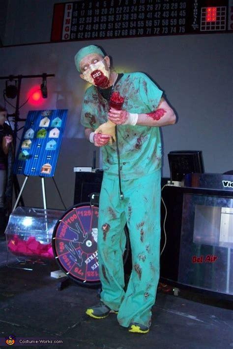 zombie doctor halloween costume  diy costumes