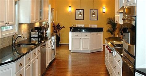 One Wall Kitchen With Island Designs Virginia Galley Kitchens Select Kitchen And Bathselect