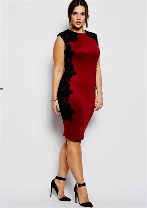 Plus size sexy red dress nostrum