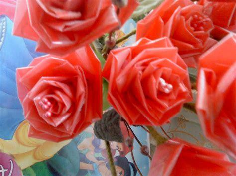 Plastik Jepara bunga mawar dari plastik kresek bekas murah kursi sofa