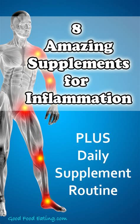 supplement for inflammation 8 amazing supplements for inflammation daily routine