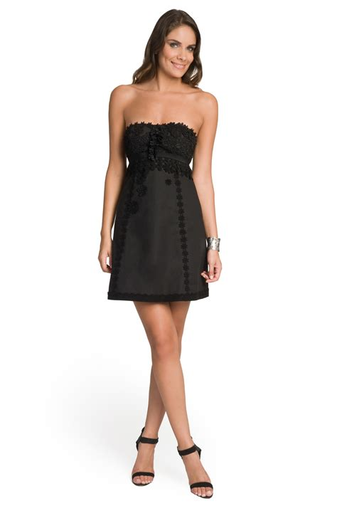 Strapless Dresses by Embellished Strapless Dress By Moschino Cheap And Chic For