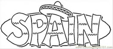 Coloring Pages Spain Countries &gt  Free Printable sketch template