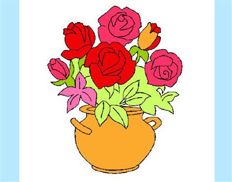 vaso di fiori disegno disegno vaso di fiori colorato da ale04 il 07 di luglio
