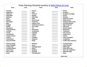 graduation checklist template 5 planning bookletemplate org