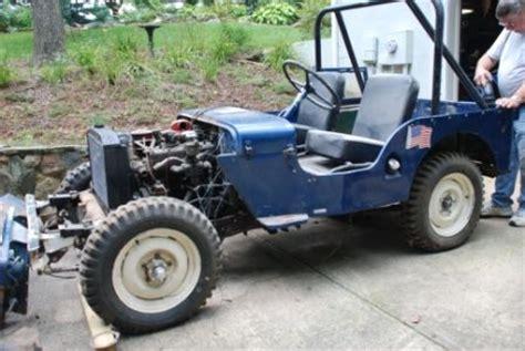 Jeeps On Craigslist 1948 Jeep Cj2a Craigslist Autos Weblog