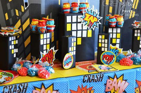 Bretts Superhero Th  Ee  Birthday Ee   Project Nursery