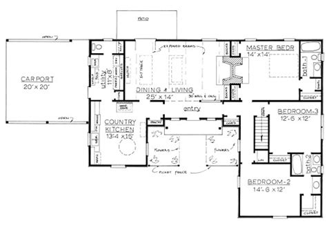 country house plans one story country house plans fabulous