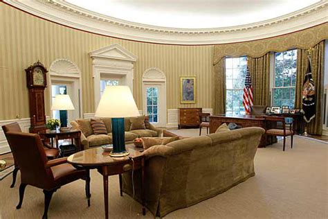 Home Interior Decorating Magazines by 2nd Oval Office Readied In White House Rehab Project