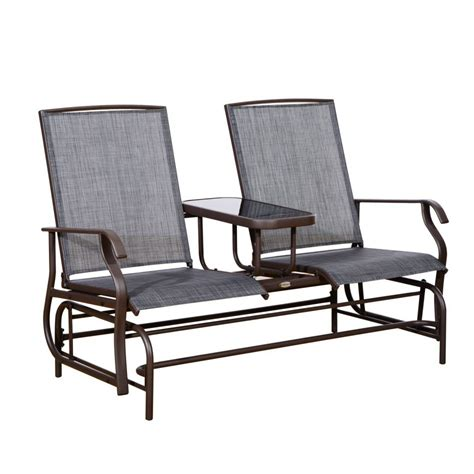 Furniture: Outsunny Person Outdoor Mesh Fabric Patio