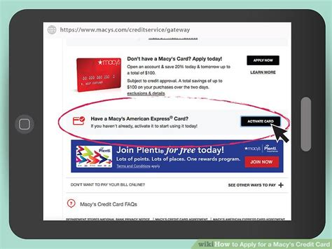 Activate Macy S Gift Card - macy s american express credit card payment infocard co