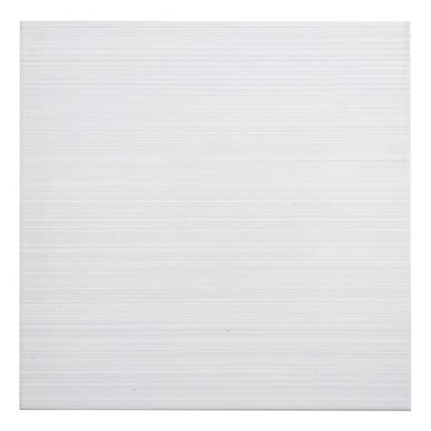 shop style selections blairlock white ceramic floor and wall tile common 13 in x 13 in actual